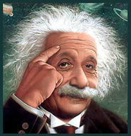 Picture of einstein
